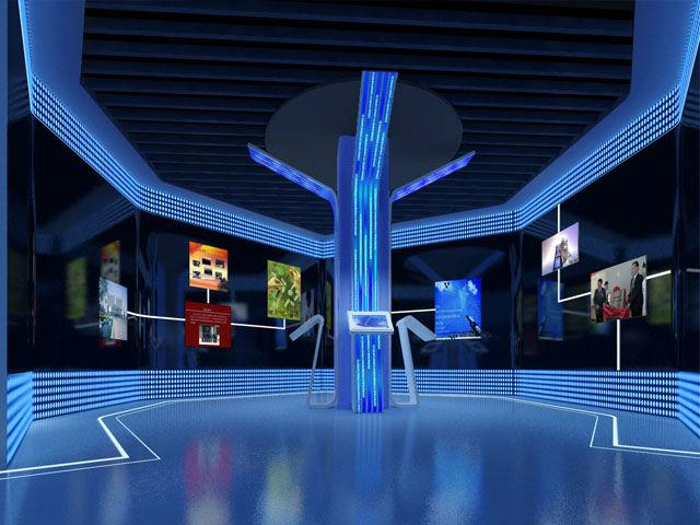 瑞普生物展厅设计