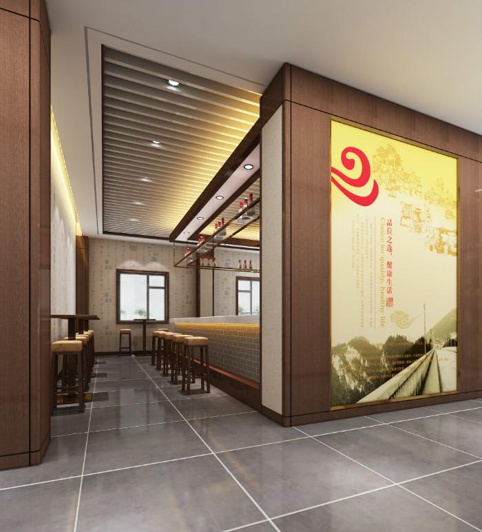 十里香酒业体验馆设计