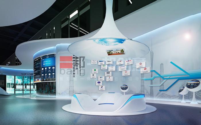 富士康天津展厅一期设计装修