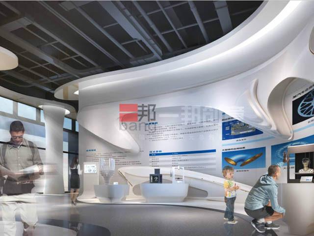 香河3D打印产业园展厅设计